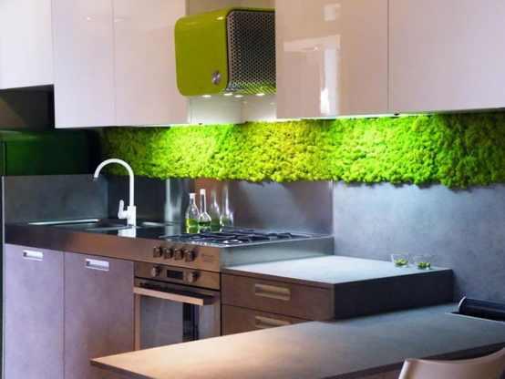Zielona ściana – doskonałe realizacje, ciekawe inspiracje