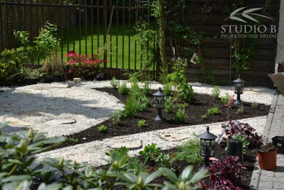 Zakładanie ogrodu bez trawnika