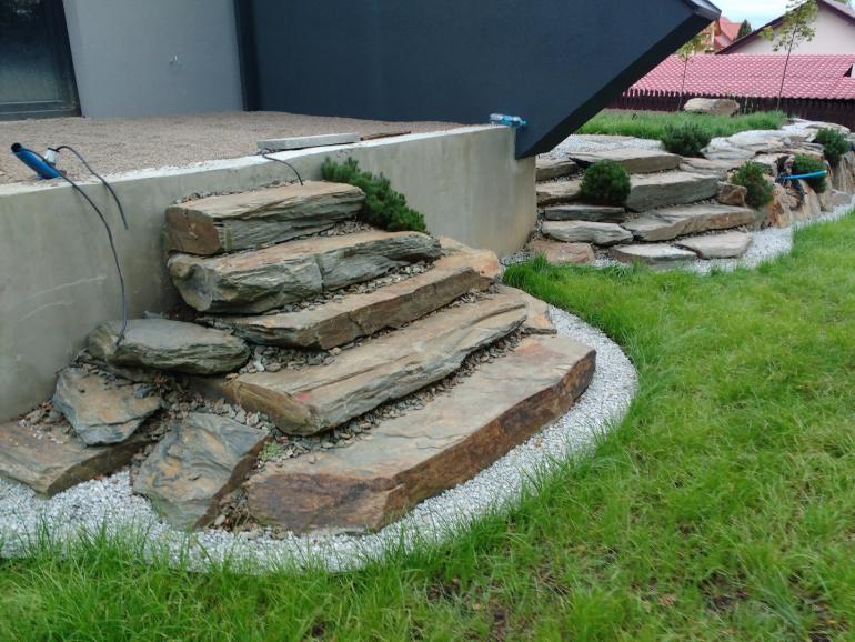 kamień ogrodowy i realizacja w Krakowie