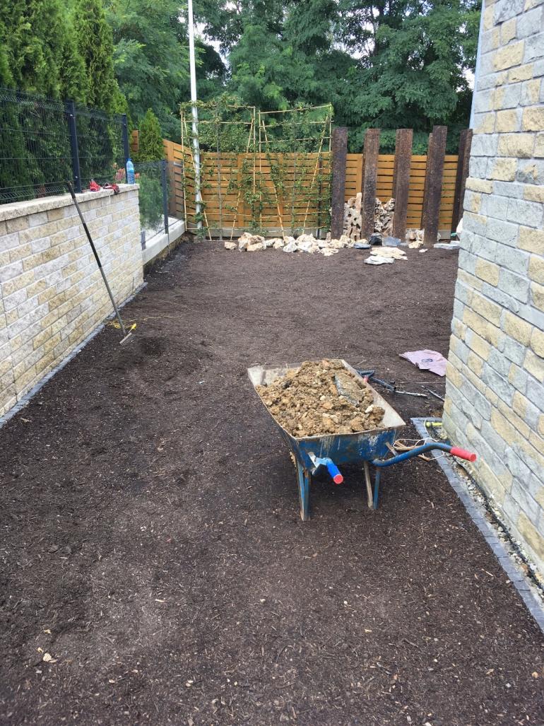 Mogilany- zakładanie małego, przydomowego ogródka