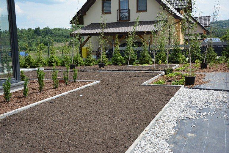 Podmiejski ogródek w Krakowie