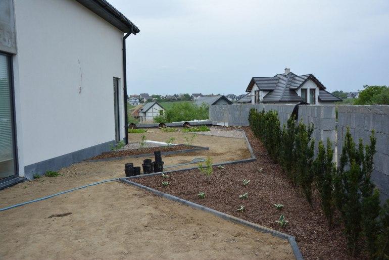 Zakładanie ogródka w Krakowie-Skotnikach