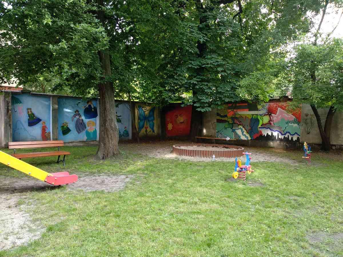 Rewitalizacja ogrodu przy Domu Kultury w centrum Krakowa