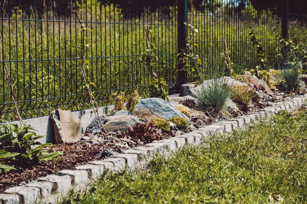 Skalniaki i granitowe obrzeża